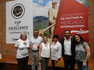 With the Family and their 2016 Cup of Excellence Award