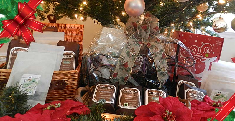 Amrita Certified Pure Coffee Gift Baskets
